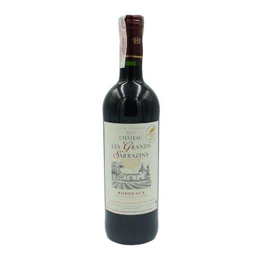 "Французьке червоне сухе вино ""Chateau Les Grands Sarrazins"""