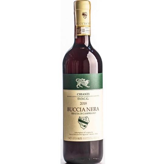"""Італійське вино """"BUCCIA NERA TENUDA DI CAMPRIANO CHIANTI"""""""