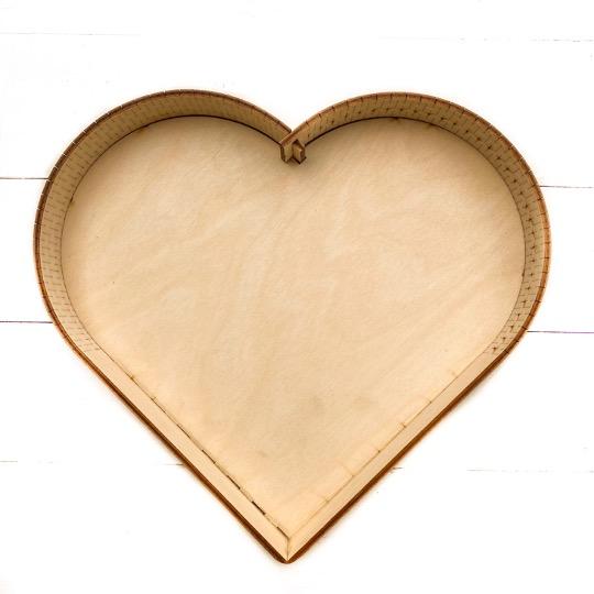 Таця у формі серця
