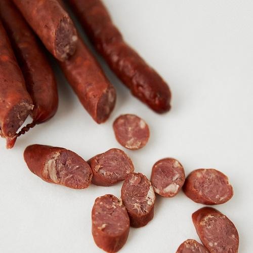 Мисливські ковбаски із баранини
